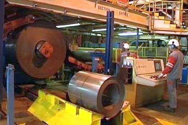 Saint-Chély-d'Apcher (Lozère) - l'usine ArcelorMittal - archives