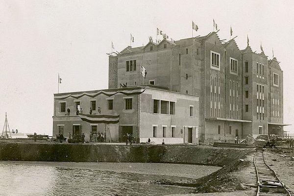 La Glacière de Lorient à sa construction