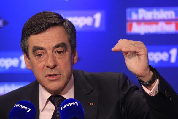 François Fillon invité dimanche du Grand rendez-vous Europe A/Itele/Le Parisien