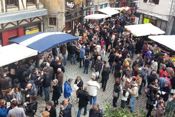 La frairie des Petits Ventres à Limoges, vendredi 20 octobre 2016.
