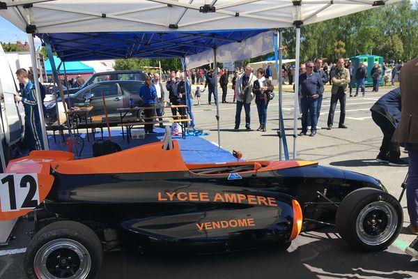 Le lycée Ampère de Vendôme participe à l'opération depuis son lancement.