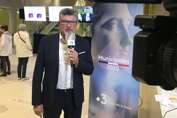 Luc Bouard réélu à La Roche-sur-Yon, le 28 juin 2020