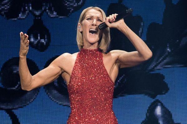 Céline Dion, en concert à Québec, le 18 septembre 2019