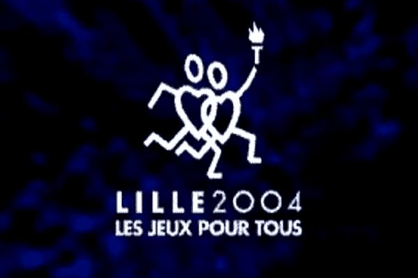 Le logo de la candidature de Lille pour organiser les Jeux olympiques de 2004.