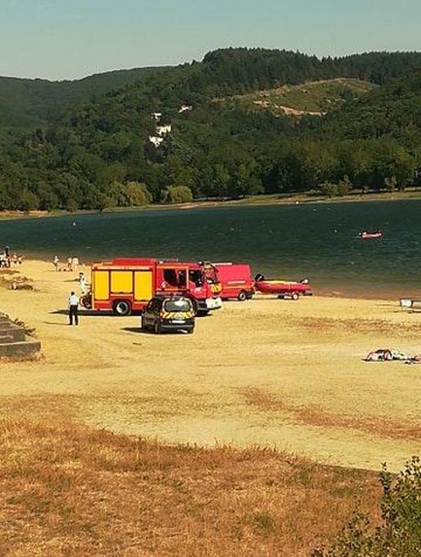 Les pompiers recherchent un homme porté disparu au lac de Saint Ferreol