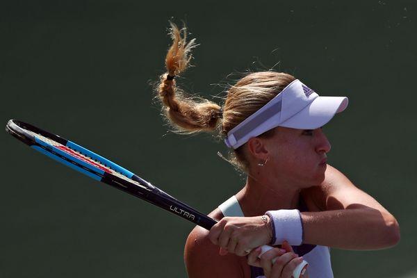 Kristina Mladenovic, en février 2020