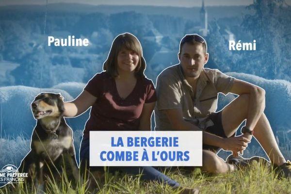 """Pauline et Rémy, deux paysans du Doubs, participent à l'émission """"La ferme préférée des Français""""."""
