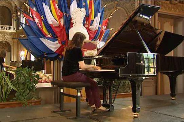 La pianiste américaine d'origine taïwanaise, Amy Lin, présente, en habituée, aux Nancyphonies 2016.
