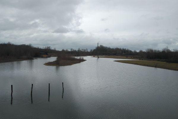Le lac de Saint-Cyr.