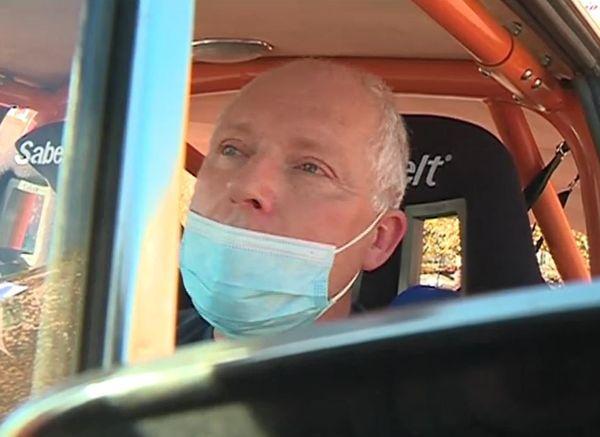 Benoît Cousin, président de Handi Rally Passion