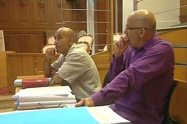 Nîmes - Abdelkader Azzimani et Abdelrrahim El Jabri attendent les réquisitions et le verdict avec angoisse - 2 juillet 2014.