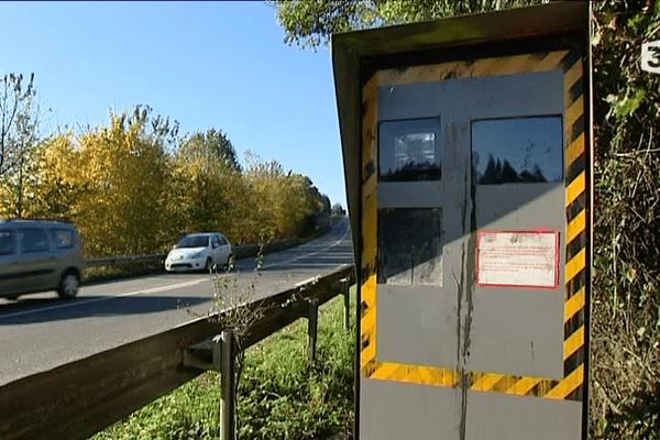 Un radar à Saint-Jean-sur-Vilaine