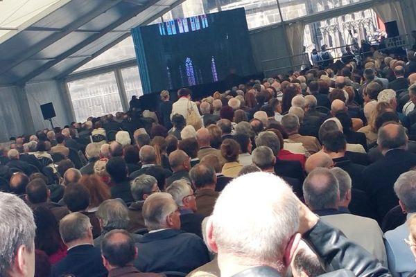 Les obsèques de François Michelin ont été célébrées le 5 mai 2015 à Clermont-Ferrand, en présence de plusieurs milliers de personnes.