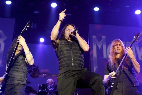 Manowar en concert à Sarragose en octobre 2012
