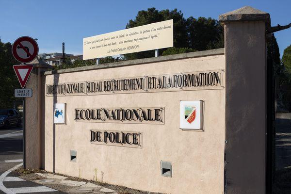 Nîmes - l'Ecole Nationale de Police - archives