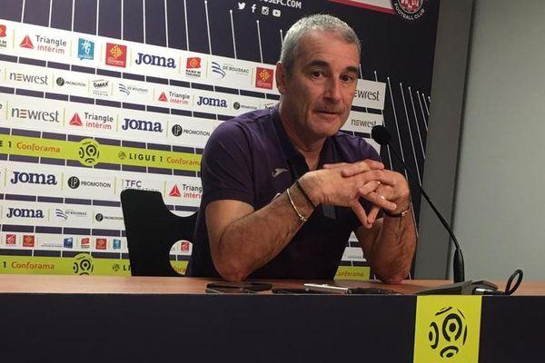 Denis Zanko a répondu aux questions des journalistes lors d'une conférence de presse au Stadium.
