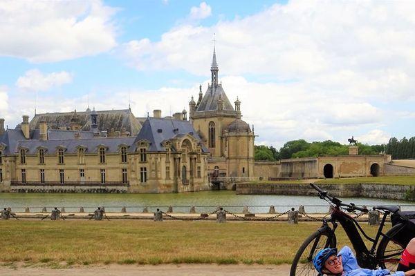 Julie Pruvost, 29 ans, dit avoir découvert le vélo à Berne, mais s'entraîne depuis trois semaines en France.
