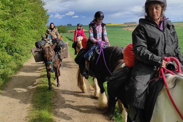 Dans cette randonnée des 3 vallées, les cavaliers prendront un maximum de chemins de terre et traverseront une partie de la forêt d'Eu.