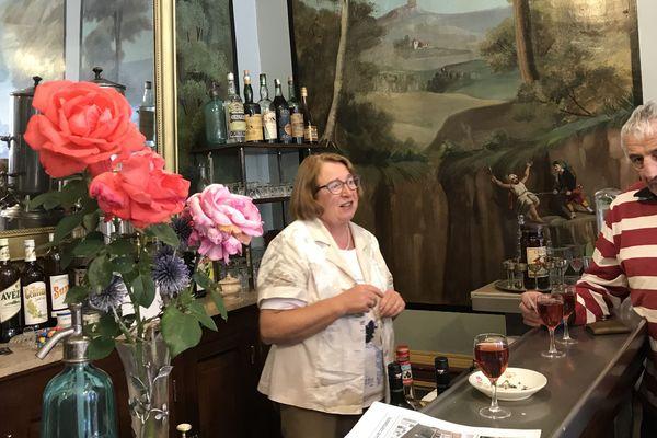 A l'occasion des journées du Patrimoine, Marinette accueille des clients deux jours par an à Chaudes-Aigues dans le Cantal.