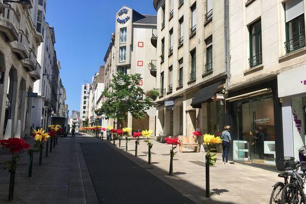 Avec le déconfinement, des soldes d'été repoussées au 22 ou 25 juillet, c'est le souhait des commerçants de Plein Centre à Nantes
