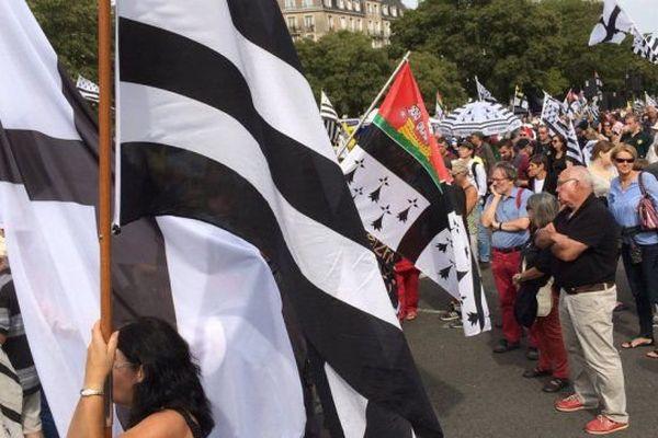 Manif pour une Bretagne réunie à Nantes le 24 septembre 2016