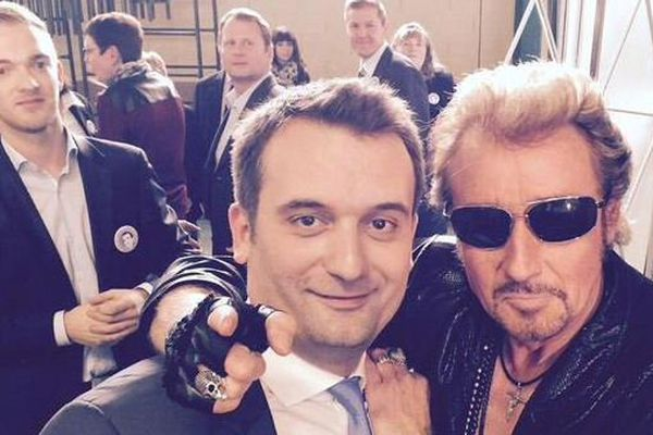 La photo de la rencontre sur le compte Twitter de Florian Philippot.