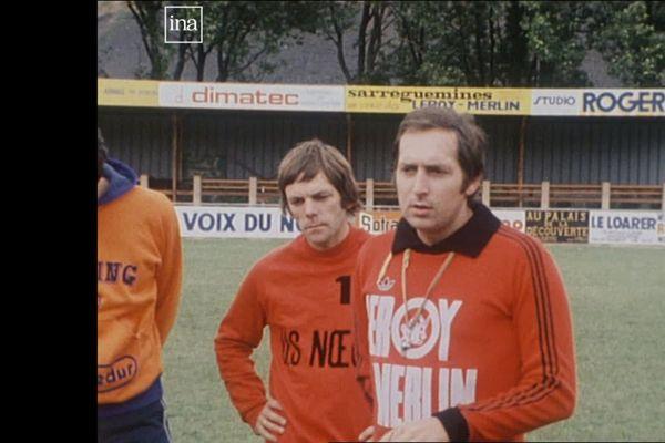 Gérard Houiller en 1982, quand il entraînait Noeux-les-Mines, en 2è division.