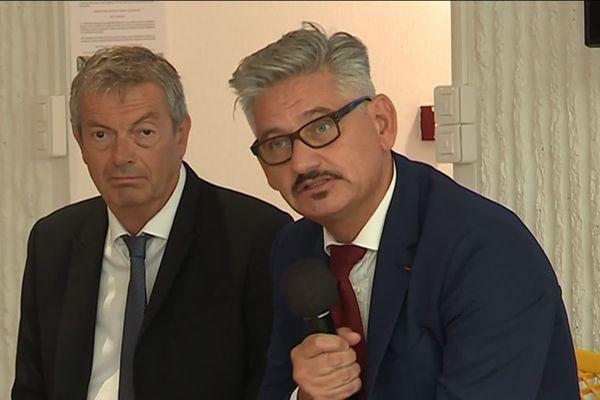 Le recteur de l'Académie de Nice, Richard Laganier, a présenté les nouveautés de la rentrée scolaire 2019.