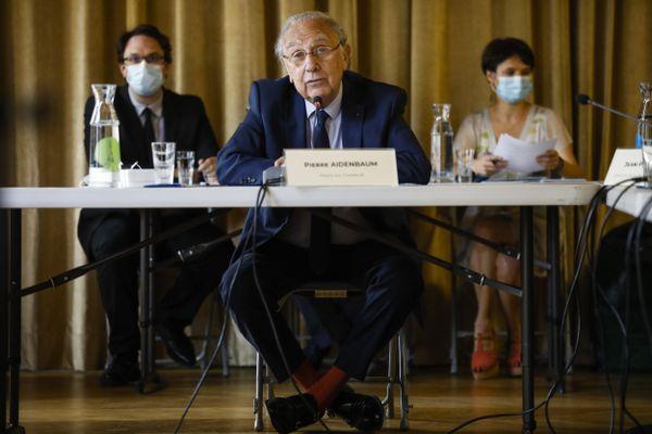 Pierre Aidenbaum, lors du premier Conseil Municipal de Paris Centre, le 11 juillet dernier.