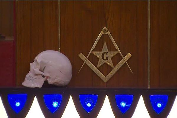 Des symboles maçonniques dans le temple de Guéret (2018)