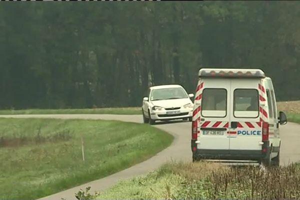 Pannes (dans le Loiret), non loin du lieu où le corps de l'infirmière a été retrouvé