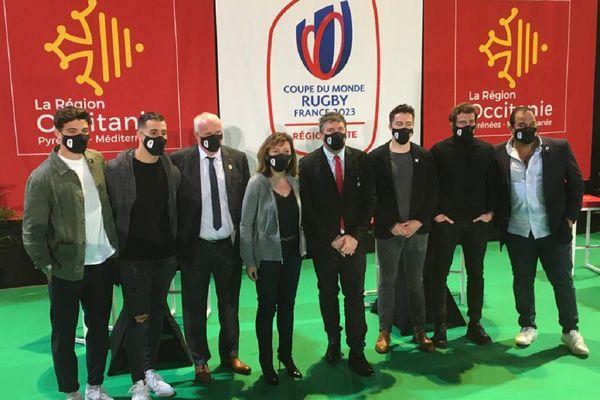"""La présentation du calendrier des matches de la Coupe du Monde de rugby """"France 2023"""" a suscité la satisfaction unanime de ses protagonistes."""