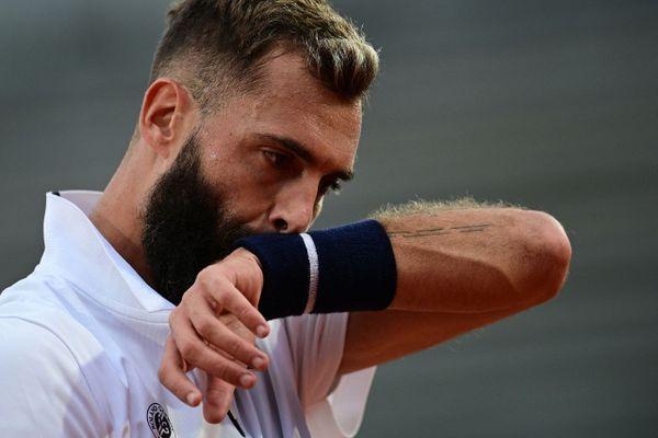 """04.03.2021. Benoît Paire avertit pour """"comportement antisportif""""  lors du tournoi de Buenos Aires."""