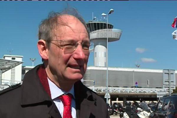 Pascal Personne, directeur de l'aéroport de Bordeaux-Mérignac