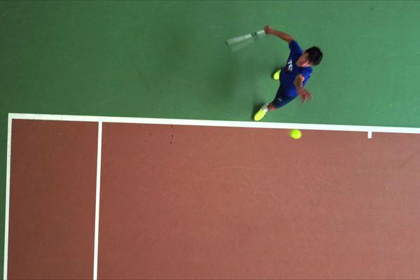 Gabriel Debru, 15 ans, fait partie des meilleurs joueurs français de son âge.