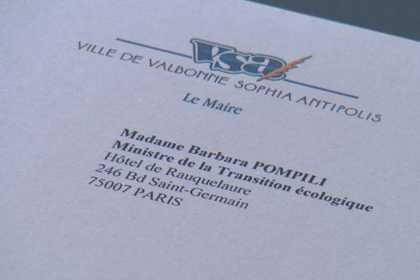 Le maire de Valbonne a demandé une entrevue à la ministre de la Transition écologique.