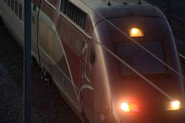 Le Thalys 9336 bloqué à la frontière franco-belge.