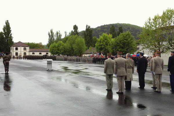 Un millier de militaires pour cette cérémonie