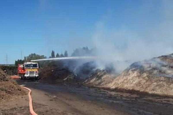 Un incendie s'est déclaré dans la déchetterie de Nîmes