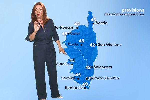 Des températures supérieures à 40 degrés en Corse en novembre, de la science-fiction ? Pas si sûr...