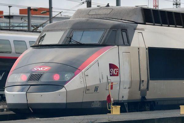 Un TGV Lille-Paris
