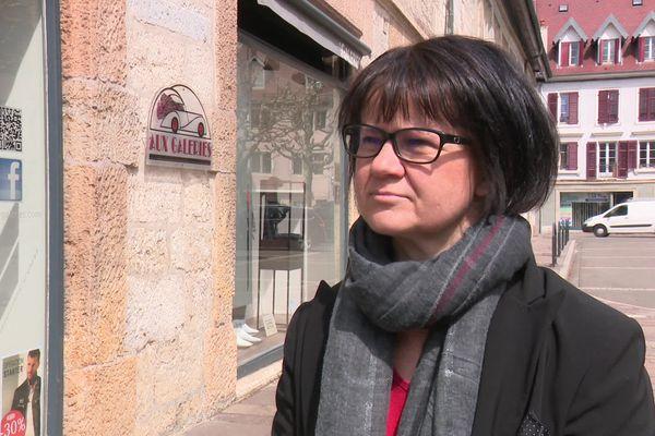 Marie-Laure Duchanoy, présidente du RN du Territoire de Belfort