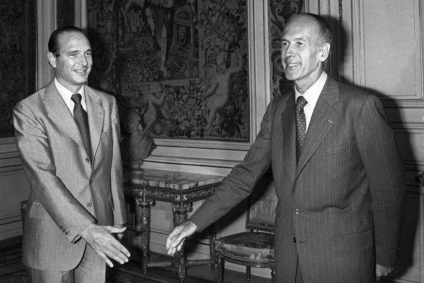 Pendant plus de trente ans, Valéry Giscard d'Estaing et Jacques Chirac auront été d'éternels rivaux.