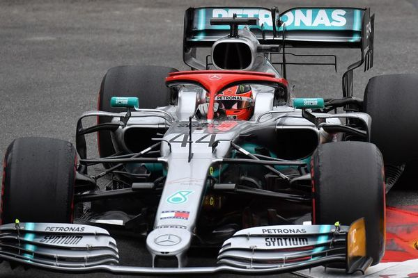C'est la6ème victoire consécutive pour Mercedes cette saison.