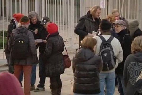 Les prévenus devant le tribunal correctionnel à Montpellier - décembre 2014