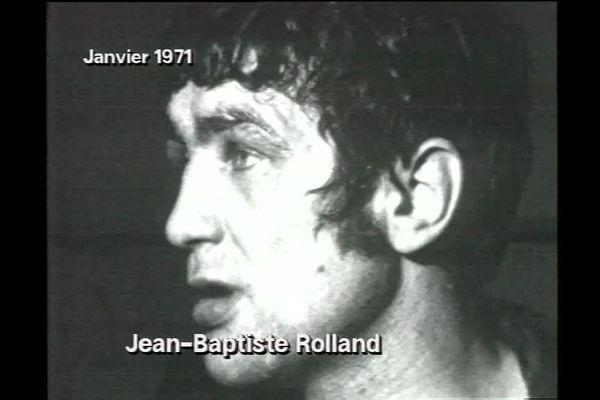 Jean-baptiste Rolland, janvier 1971