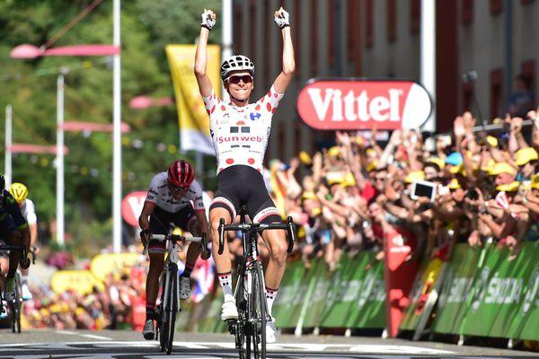 Warren Barguil remporte l'étape du tour de France entre Saint-Girons et Foix
