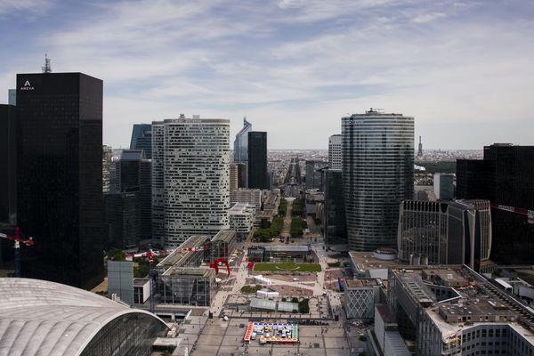 Le quartier d'affaires de La Défense, près de Paris.