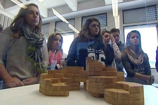 Le FRAC rencontre une classe au Collège de Bazoches-les-Gallerandes (45)