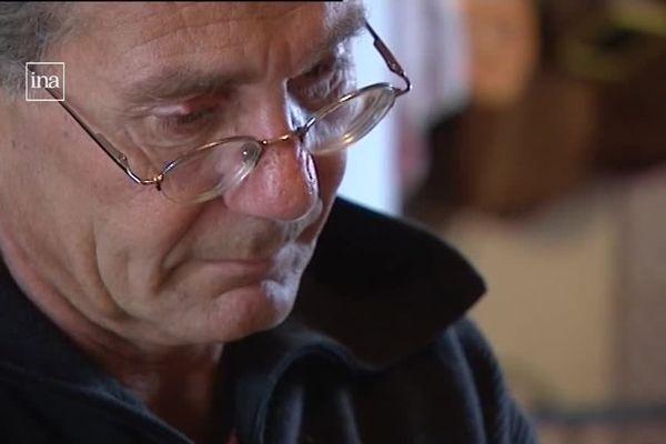 Eric Holder chez lui, dans le Médoc, en 2009.